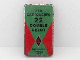 Boite en métal ancienne Cartoucherie Française / French Cartridges tin