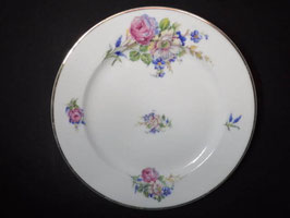 Assiette en porcelaine de Limoges / Limoges porcelain plate
