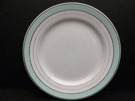 Assiette Luneville modèle Régence / Luneville plate model Regence