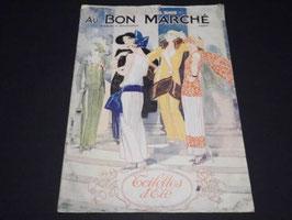 Catalogue ancien de mode Au Bon Marché 1923 / Antique french fashion catalogue Au Bon Marché 1923