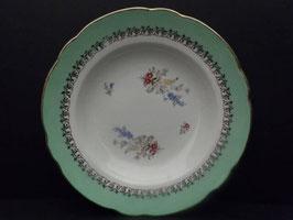 Assiette creuse modèle Chenonceaux Sarreguemines / Sarreguemines shallow bowl model Chenonceaux