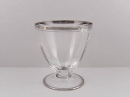 Lot de 10 verres à eau Art Déco / Lot of 10 Art Deco design water glasses