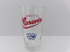 Lot de 6 verres anisette Casanis / Lot of 6 anisette Casanis glasses