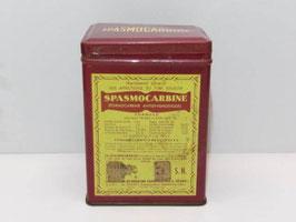 Boite métal de pharmacie Spasmocarbine / Spasmocarbine pharmacy tin