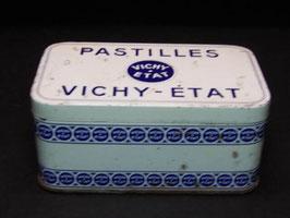 Boite métal ancienne pastilles Vichy-Etat / French vintage Vichy-Etat lozenges tin