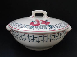 Soupière faience de Longwy modèle Marly / French soup tureen by Longwy model Marly