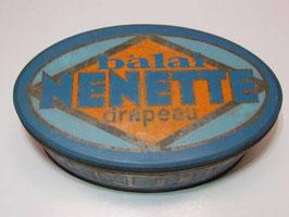 Grande boite métal vintage Balai Nénette / Large vintage tin broom Nénette