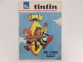 Journal de Tintin n° 874, 1965 / Tintin magazine n° 874, 1965.