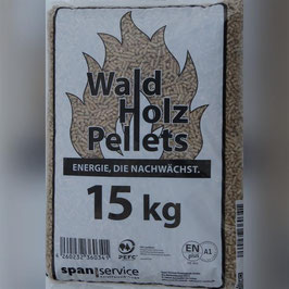 "Holzpellets ""Waldholzpellets"" Sackware 15kg"
