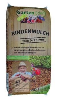 Rindenmulch 0-20 fein - 60L