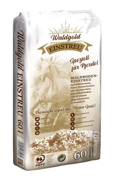 Waldgold Einstreu