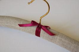 """Luxury hanger linen """"natural"""""""