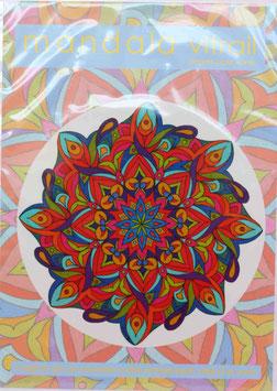 arabesque 2                    mandala vitrail  petit format