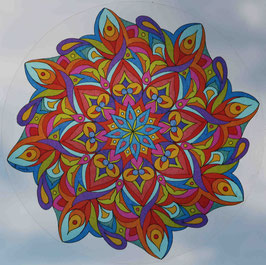 arabesque 2                     mandala vitrail  grand format