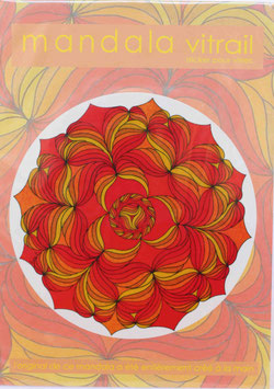 fleurs soleil 1                   mandala vitrail  petit format