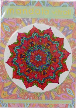 soleil 2                    mandala vitrail  petit format