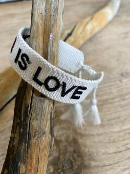 HIPPIEARMBAND LOVE IS LOVE