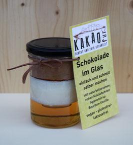 Kakaopur - Schokolade im Glas - NEU