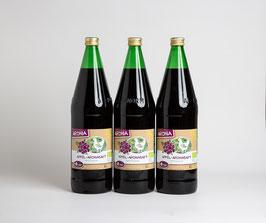 3 x Bio Apfel - Aroniasaft 1 Liter