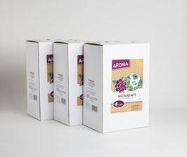 3 x Bio Aroniadirektsaft Bag in Box 3 Liter