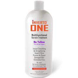 INVERTO ONE - Multifunktionale Keratin-Haarbehandlung Formaldehydfrei 1000ml, speziell entwickelt für alle Haare, Natur Farbe, gefärbte Haare, blonde Haare