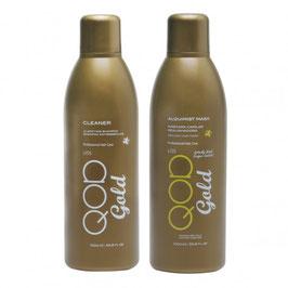 QOD GOLD ALQUIMIST Brazilianische Haarglättung Behandlung Kit 1000ML+1000ML