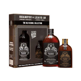 QBS KIT OLD SCHOOL WHISKY SHAMPOO + LEAVE-IN - LIMITIERTE EDITION!