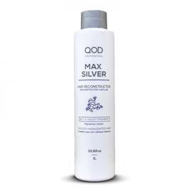 2x QOD max SILVER Brazilianisches Hair Keratin Treatment 1000ml