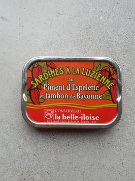 Sardines a la Luzienne