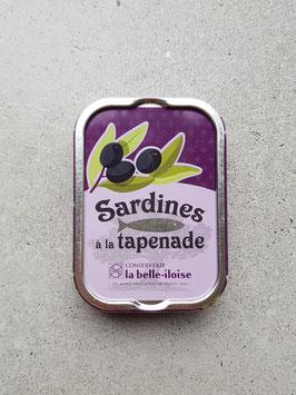 Sardines a la tapenade