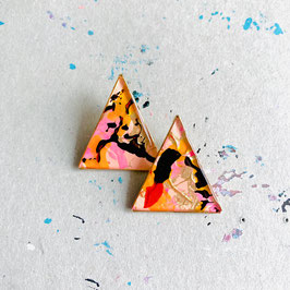 """New Triangle Ohrstecker """"Individual Item No2"""""""