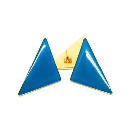 Triangle Ohrstecker Petrol