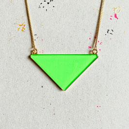 Triangle Kette Green Neon