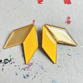 "Doppelrhombus Ohrstecker ""Individual Item No1"""