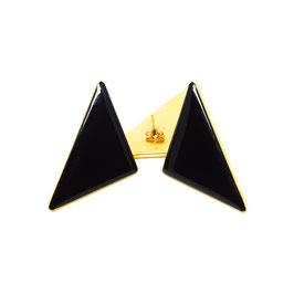 Triangle Ohrstecker Black