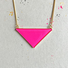 Triangle Kette Pink Neon