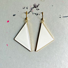 Triangle Ohrhänger Ivory