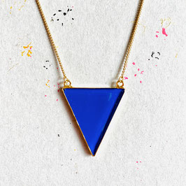 New Triangle Kette Dark Blue