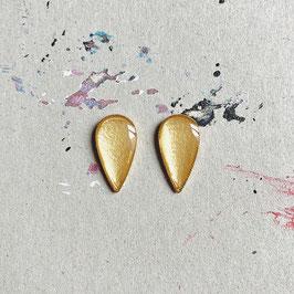 Lagrima Ohrstecker Gold