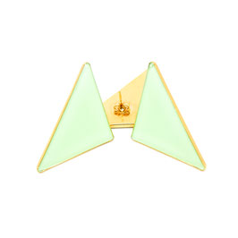 Triangle Ohrstecker Mint