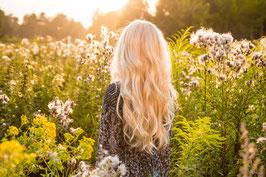 Exklusives Haarwasser für blondes Haar