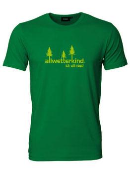 Herren T-Shirt ICH WILL RAUS