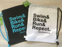 Beutel SWIM & BIKE & RUN & REPEAT