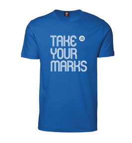 Herren T-Shirt TAKE YOUR MARKS