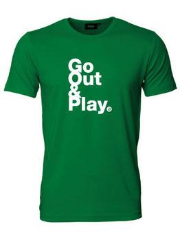 Herren T-Shirt GO OUT & PLAY