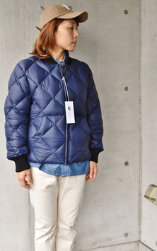 QUILT BOMBER DOWN JACKET