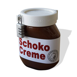 Chocloc including a 3-digit padlock