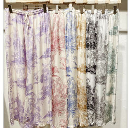 pantalon palazzo chemise toile de jouy