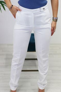 Pantalon pinces blanc
