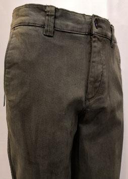 Pantalone Granchio cotone inv. V/P verde